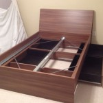Ikea Oppdal Headboard and Bed Completed