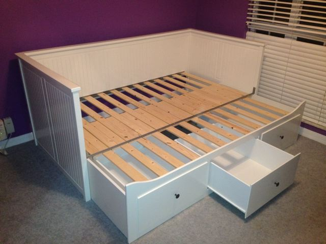ikea hemnes day bed carter assembly assembly. Black Bedroom Furniture Sets. Home Design Ideas