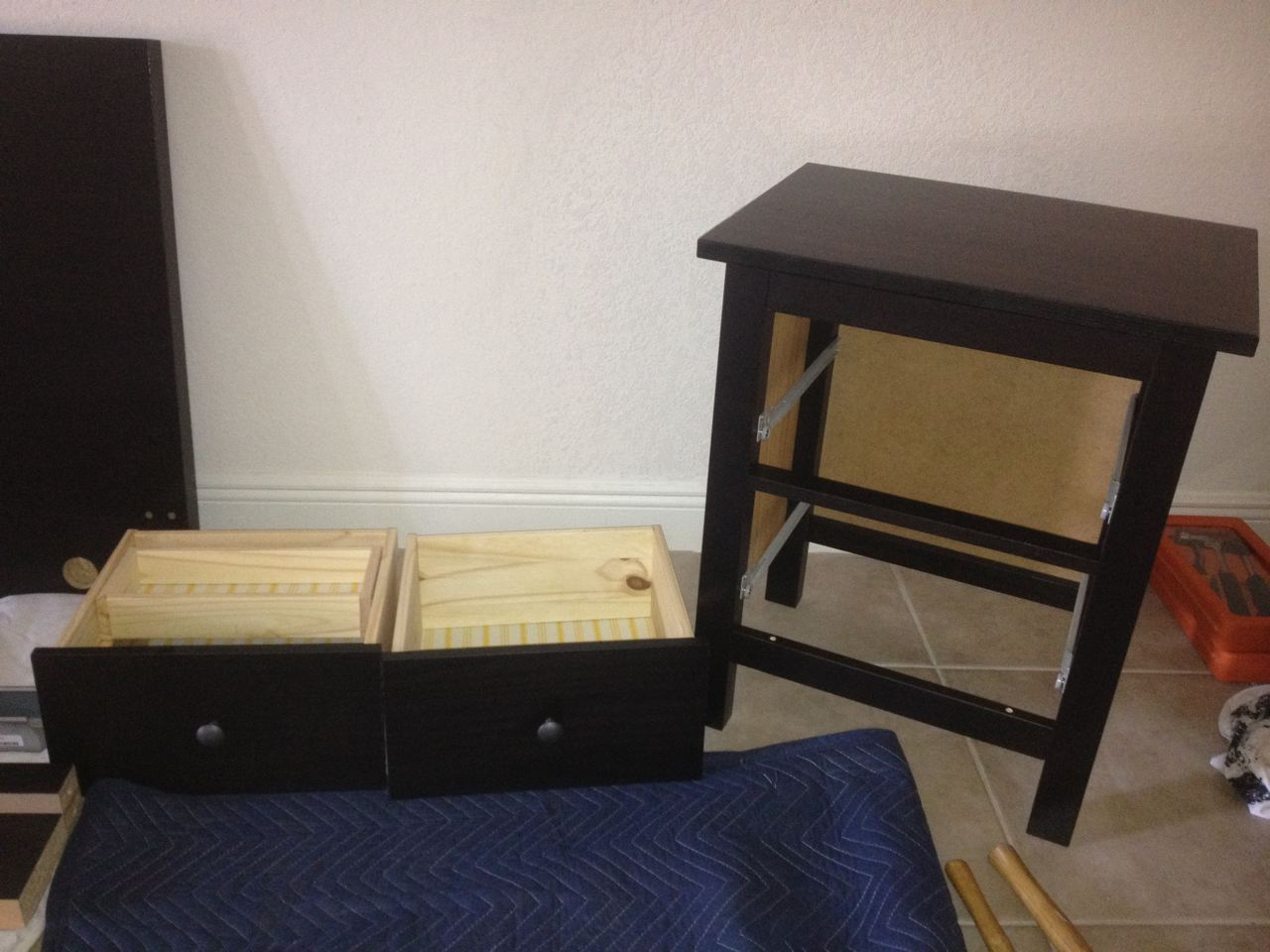 Ikea Hemnes 2 Drawer Nightstand Assembly Carter Assembly