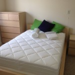 Malm double bed and 5 drawer dresser