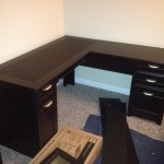 Magellan L-shaped Desk 101095 completed