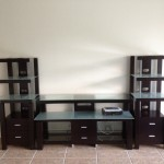 American Signature 3 pc Crescent Entertainment unit SKU 1416669